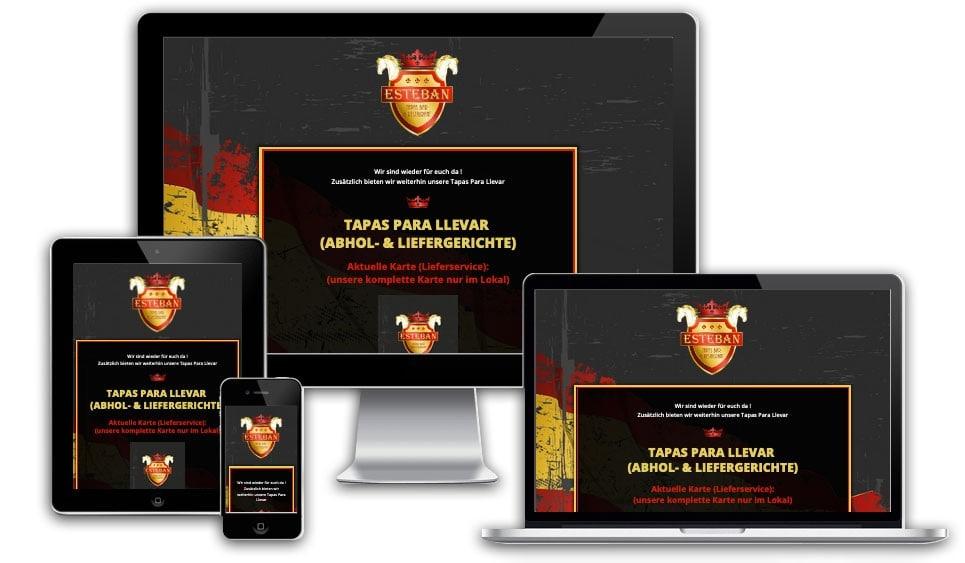 webseite esteban